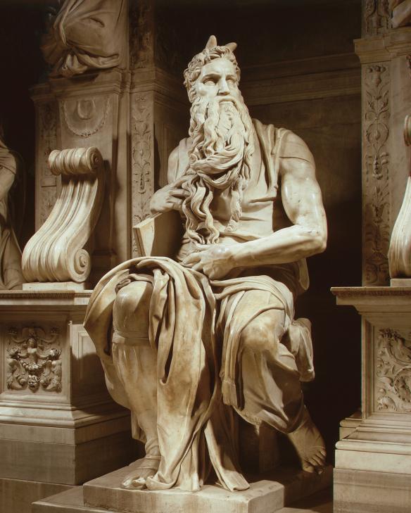 Рогатый Моисей